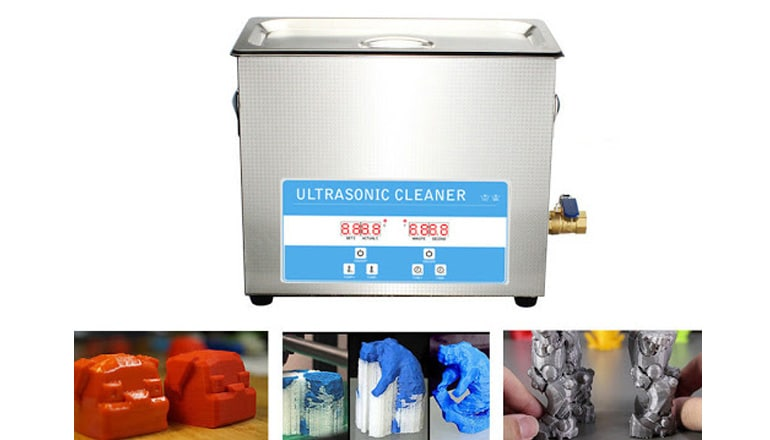 best ultrasonic cleaner for resin prints
