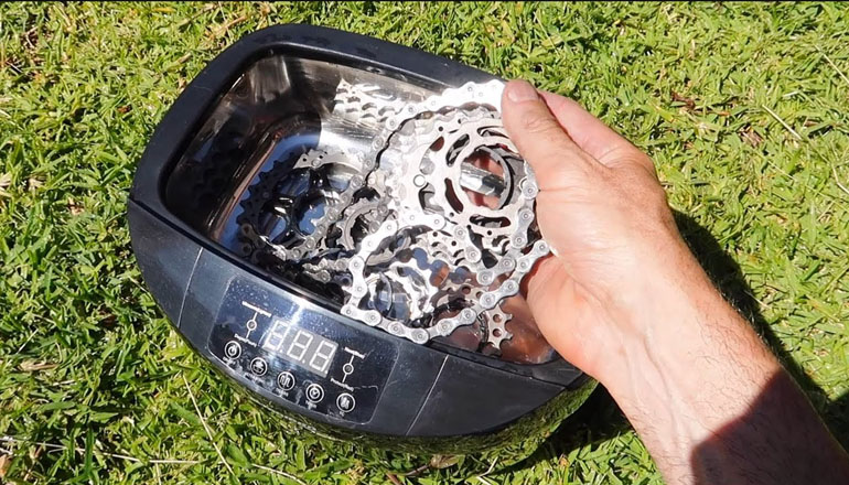 best ultrasonic cleaner for bike chains